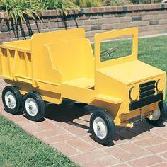 Buy Dump Truck Pedal Car, Plan No. 682 at Woodcraft.com