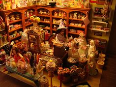 Another Pinner wrote......    Miniature Sweet Shoppe by It's a miniature life...is playing with clay, via Flickr