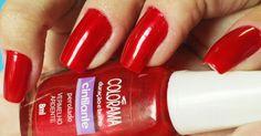 Vermelho Ardente by Colorama - My hand @yinguinha