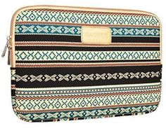 Dachee New Bohemian Style Canvas Fabric 13 Inch Laptop Sleeve Macbook  Macbook Pro  Macbook Air Sleeve Case Dell