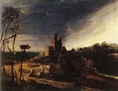 Peter Paul Rubens - Landscape with a Hanged Man