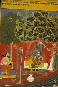 Saranga Raga. India, 1719, Varanasi, Banaras Hindu University, Bharat Kala Bhavan