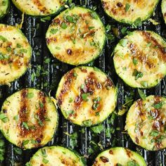 Amazingly crisp-tender zucchini grilled with a lemon butter garlic sauce - a side dish that will go well with anything!