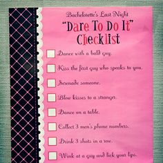 The Ultimate Bachelorette Party Checklist - Games!