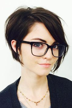 Charming Short Hairstyles with Bangs Specially for You ★ See more: http://lovehairstyles.com/short-hairstyles-with-bangs/