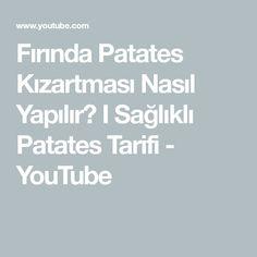 Fırında Patates Kızartması Nasıl Yapılır? I Sağlıklı Patates Tarifi - YouTube Math Equations, Youtube, Food, Meal, Essen, Hoods, Meals, Youtube Movies, Eten