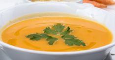 Opskrift: Gulerods detox suppen der renser din krop en gang for alle Broccoli Soup Recipes, Cream Of Broccoli Soup, Sopa Detox, Detox Soup, Carrot And Leek Soup, Sopas Light, Fall Recipes, Healthy Recipes, Drink Recipes