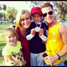 Ali Sweeney and family