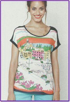 Para esta primavera, camisetas de la marca COWEST en tallas de 40 a 50