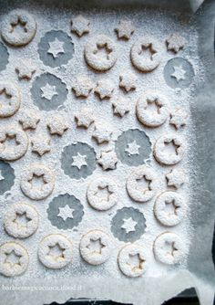 linzer cookies - biscotti di Natale con nocciole e cannella - xmas cookies
