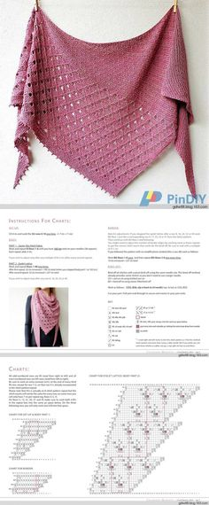 shawls stoles scarves Knitted triangular shawl Childhood // Larisa Kolomiiets History of Knitting String rotating, weaving and sewing careers . Knitting Blogs, Lace Knitting, Knitting Stitches, Knitting Patterns, Sewing Patterns, Crochet Patterns, Knitted Shawls, Crochet Scarves, Crochet Shawl