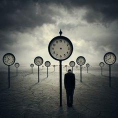 """The Time Traveler"" by digital artist Norvz Austria"