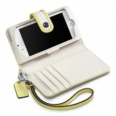 Inspired by an iconic 1967 Coach collection | Coach Two Tone Phone Wristlet #summer #wallet