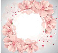 Vector Cherry Dekoration, Blumen, Kranz, Pink PNG und Vector mit transparentem Hintergrund … – The World