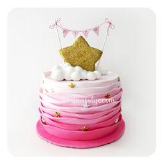 yıldız temalı pasta