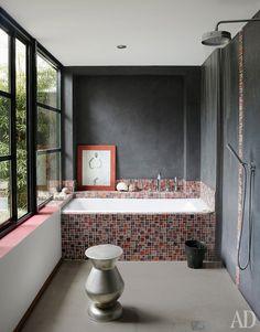 Casinha colorida: Inspirações para 2016: 45 banheiros com banheiras