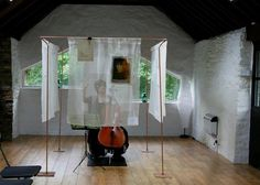 Art Exhibition in the Barn