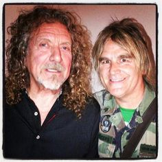 Robert Plant | Led Zeppelin and Mike Peters LA June 2013