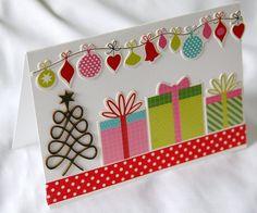 fiskars greeting card | Card a Day - washi tape and embellies - Fiskars Craft