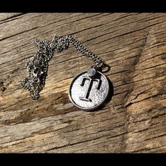 Final price!!! Monogrammed 'T' necklace Silver toned handmade necklace with the letter 'T'. Sparkly rhinestone accent. The chain is 18 inches long. Nameless Creations Jewelry Necklaces