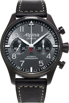 @alpinawatches Startimer Pilot Chronograph #bezel-fixed #bracelet-strap-leather #brand-alpina #case-material-steel #case-width-44mm #chronograph-yes #delivery-timescale-7-10-days #dial-colour-gray #gender-mens #luxury #movement-automatic #official-stockist-for-alpina-watches #packaging-alpina-watch-packaging #style-dress #subcat-startimer #supplier-model-no-al-860gb4fbs6 #warranty-alpina-official-2-year-guarantee #water-resistant-100m