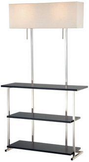 floor lamp shelf lamp pinterest shelves places and. Black Bedroom Furniture Sets. Home Design Ideas