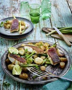 Topinambur-Gemüse mit Zanderfilet Rezept