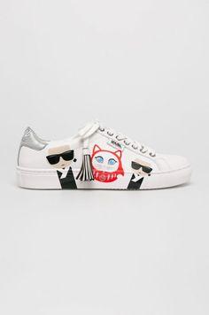 Karl Lagerfeld - Pantofi Kupsole Karl in Tokyo - Lifestyle Tokyo Fashion, Sport Casual, Karl Lagerfeld, Moschino, Nike Free, Reebok, Versace, Mall, Adidas