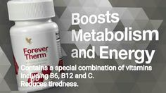 Boost Metabolism and energy. Contains a special combination of vitamins including B6, B12 and C. Reduces tiredness
