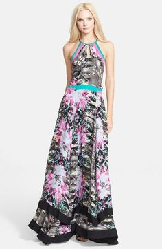 vibrant floral printed maxi dress from Nordstrom  spring  floral Beautiful Maxi  Dresses 603e820f1