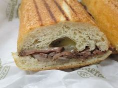 Panera Bread Restaurant Copycat Recipes: Steak and Cheese Panini