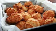 Απλές, με ελάχιστο λάδι! Tυροκροκέτες χωρίς τηγάνι για όσες προσέχουν τη γραμμή τους Cheesy Chicken, Fried Chicken, Pizza Sans Gluten, Indonesian Cuisine, Fast Food Restaurant, Chicken Nuggets, Spicy Recipes