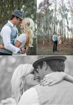 Sophisticated Winter Engagement Shoot