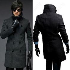 Men-s-Casual-Stylish-Slim-Long-Trench-Coat-Mens-Winter-Long-Coats ...