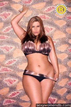Thick Chick Panty Pose dream bodies, sexi, girl crushes, real women, plus size, beauti, london andrew, summer bikinis, curv