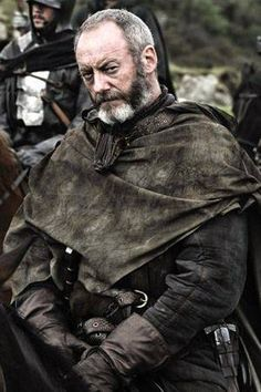 "Liam Cunningham as Ser Davos Seaworth from ""Game of Thrones"""