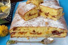 рецепт пирог с вареньем на скорую руку