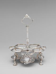 1765-1776 American (New York) Cruet stand at the Metropolitan Museum of Art, New York