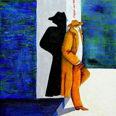 db Waterman Werken op Canvas, Poster of Dibond