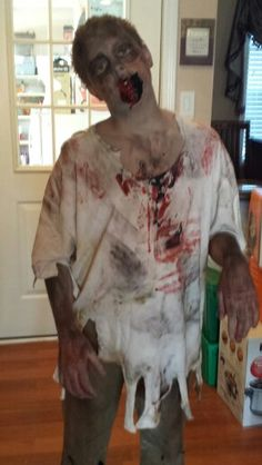 Diy zombie shirt pinterest guy costumes and halloween costumes zombie costumes zombie halloween costumeszombie partycostumes kidsdiy solutioingenieria Image collections