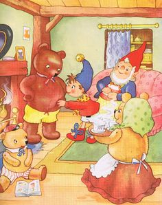 At the Tubby Bears' House