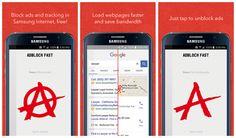 Lee Google levanta el veto sobre el bloqueador de anuncios de Samsung: ¡Vuelve Adblock Fast!