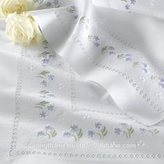 Online shopping from a great selection at Arts, Crafts & Sewing Store. Modern Embroidery, Hand Embroidery Designs, Vintage Embroidery, Cross Stitch Embroidery, Embroidery Patterns, Machine Embroidery, Sewing Patterns, Broderie Bargello, Linens And Lace