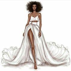43 ideas for fashion model sketch dresses art Fashion Drawing Tutorial, Fashion Figure Drawing, Fashion Drawing Dresses, Fashion Illustration Dresses, Dresses Art, Drawings Of Dresses, Fashion Illustrations, Dress Design Sketches, Fashion Design Sketchbook