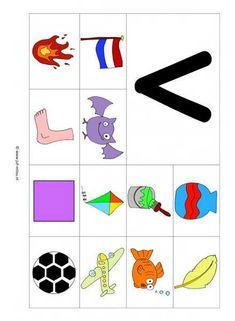 Preschool Letters, Alphabet Activities, Preschool Worksheets, Toddler Activities, Speech Language Therapy, Speech And Language, Letter School, Beginning Sounds, Step Kids