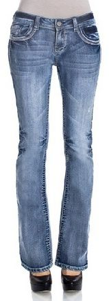 WallFlower Juniors Washed Classic Legendary Bootcut Jeans - For Sale