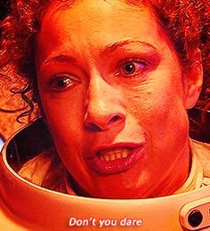 """When the 10th Doctor first met River Song on the day she died even though she knew him for quite a long time. 