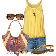 Kick back summer outfit