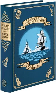Master and Commander by Patrick O'Brian. First book of the Aubrey/Maturin series, and great reading.
