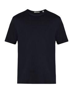 Vince Reverse-stitched cotton-blend jersey T-shirt